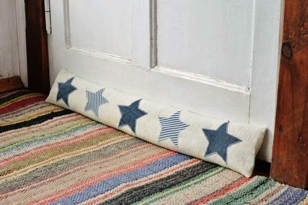 подушка заслон щелей от сквозняков