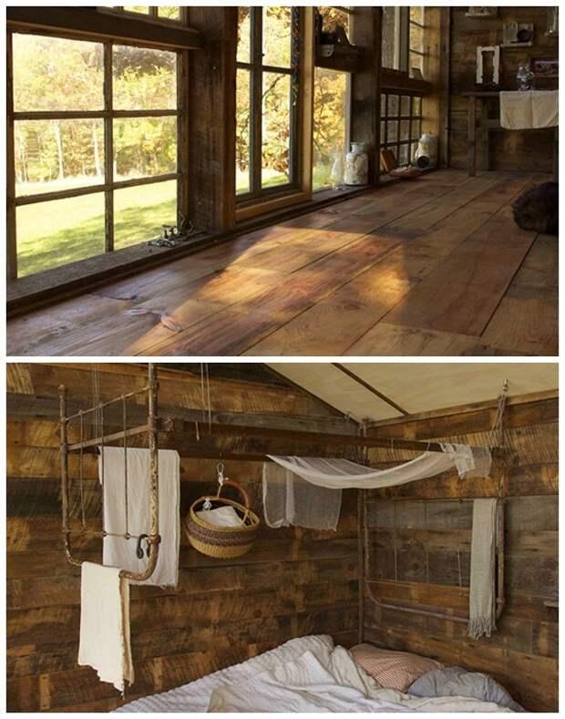 Для строительства и создания интерьера использовали только вторсырье и выброшенные предметы (The Sunset House, США).   Фото: googleusercontent.com.