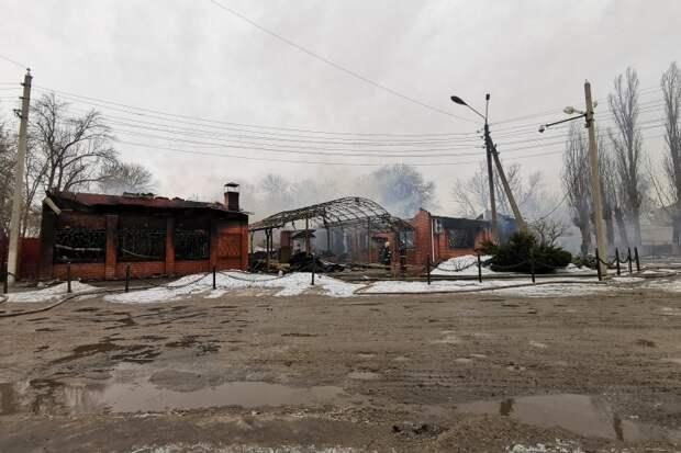 Не пережил 8 Марта: в Урюпинске сгорел развлекательный центр