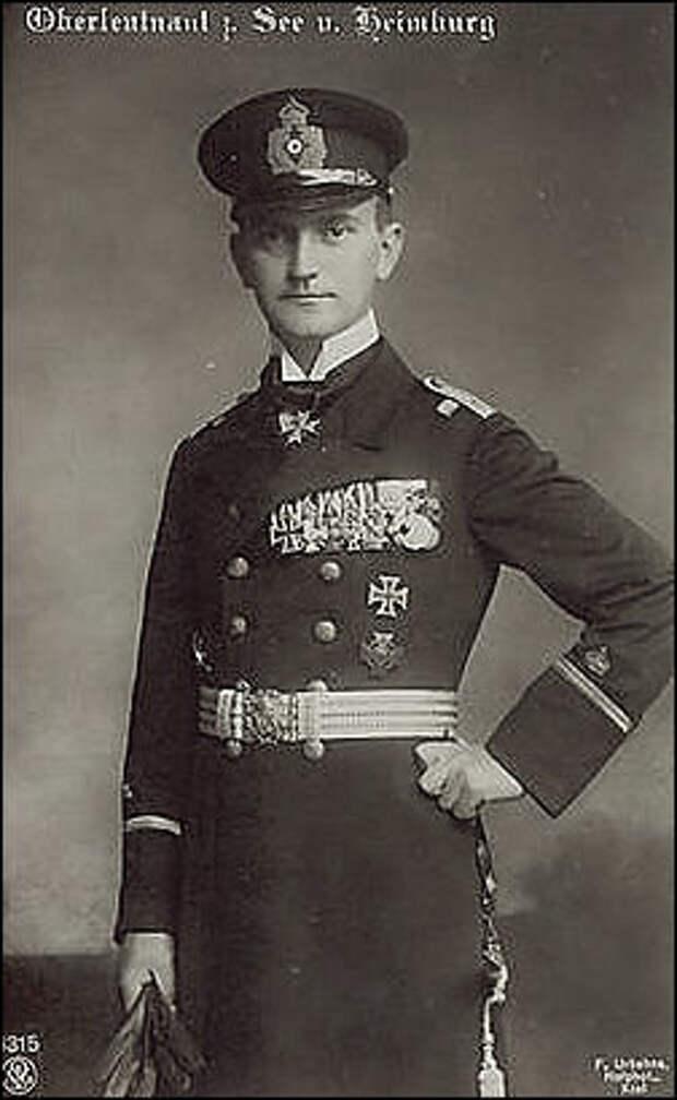 обер-лейтенант Хейно фон Хеймбург