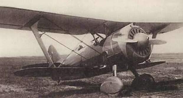 """Советский истребитель И-153 """"Чайка"""""""