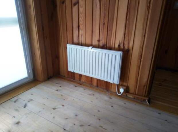 Как установить электрический обогреватель