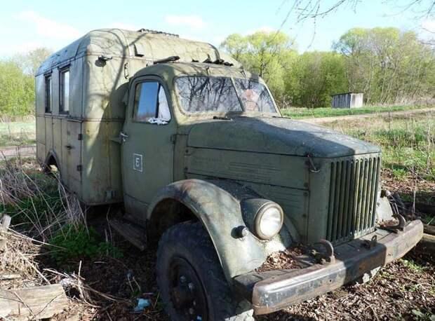 Реставрация и восстановление автомобиля ГАЗ-63