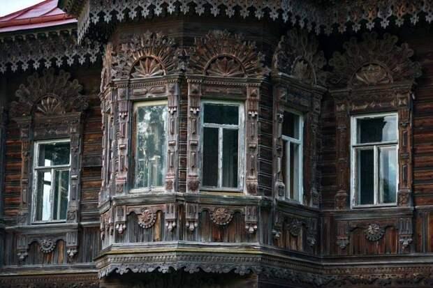 Потрясающей красоты древнерусский дом в покинутой деревне дом, зодчество, история, постройка