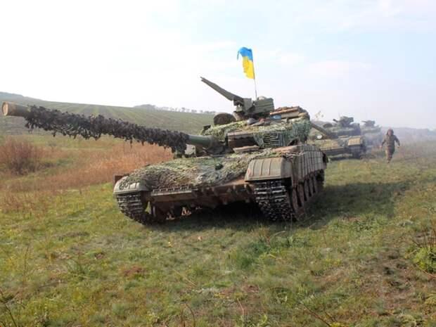 Захват Донбасса Украина проведет под прикрытием белорусских протестов