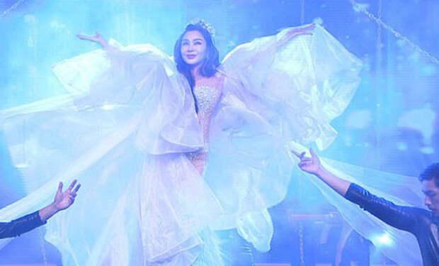 Звезда вышла в прозрачном платье на сцену и никто не поверил, что ей за 60