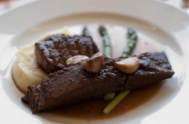 Улучшаем вкус мяса после жарки