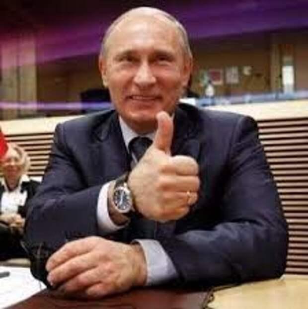 Путин жжёт