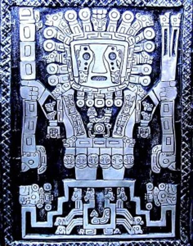Виракоча – белокурый бог со светлой бородой