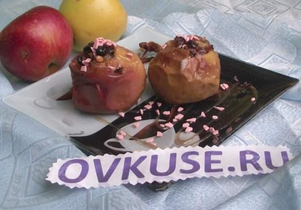 КУЛИНАРИЯ ДЛЯ ХУДЕЮЩИХ. Печёные яблоки: три рецепта