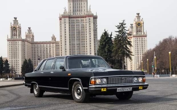 В 1977 создали новую модель ГАЗ-14, которую выпускали параллельно с ГАЗ-13 / Фото: 3.404content.com