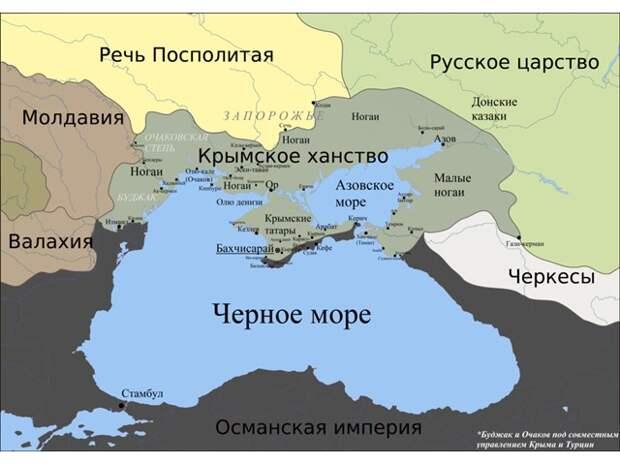 Крымско-татарские набеги на Русь, и кто у кого должен прощения просить?