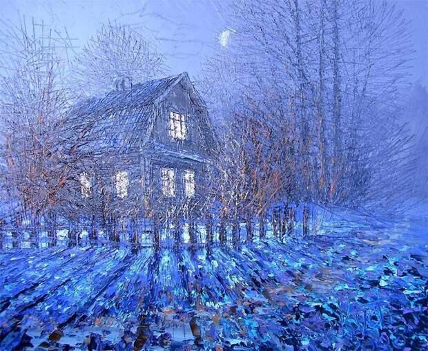 Замечательные пейзажи Дмитрия Кустановича