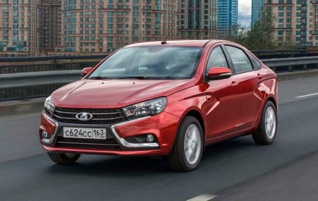 Отечественный автомобиль стал лидером продаж в марте