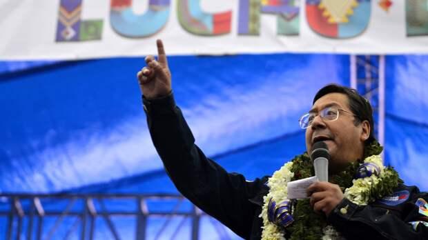 Президент Боливии Луис Арсе