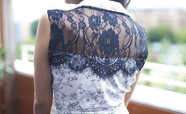 Переделка старой рубашки 8