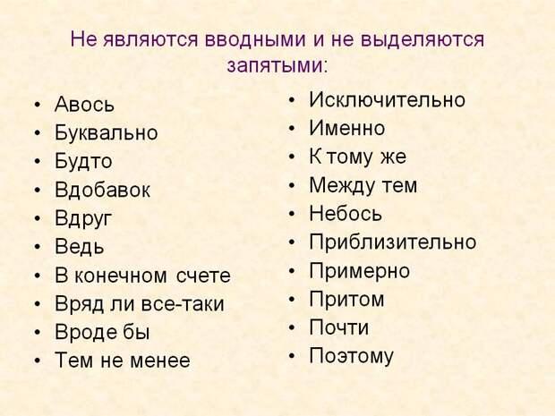 16 заковыристых правил русского языка