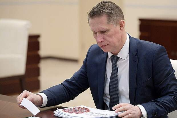 Глава Минздрава Михаил Мурашко. Фото: Алексей Дружинин/ТАСС