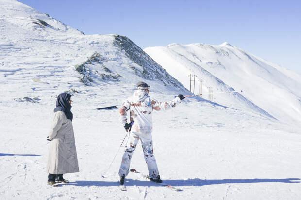 Что происходит на лыжных курортах в Иране