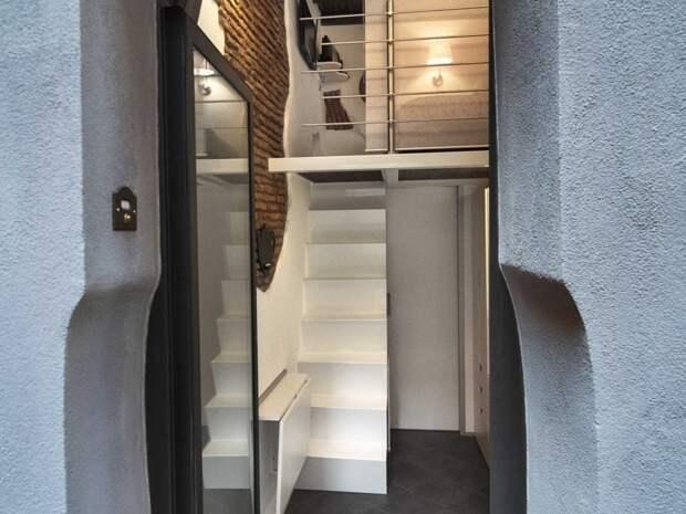 12 фотографий классной квартиры площадью всего 7 квадратных метров в Риме