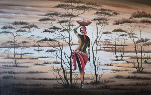 Обнаженная натура в изобразительном искусстве разных стран. Часть 113.