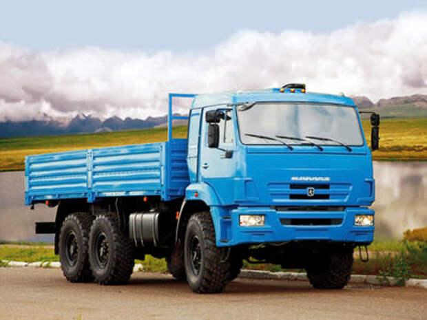 Российский рынок грузовых автомобилей снова вырос