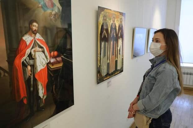 Выставка, посвящённая жизни Александра Невского, открылась в Нижегородском художественном музее