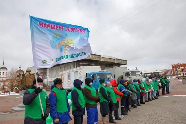 Медики поехали в удаленные томские села с автополиклиникой