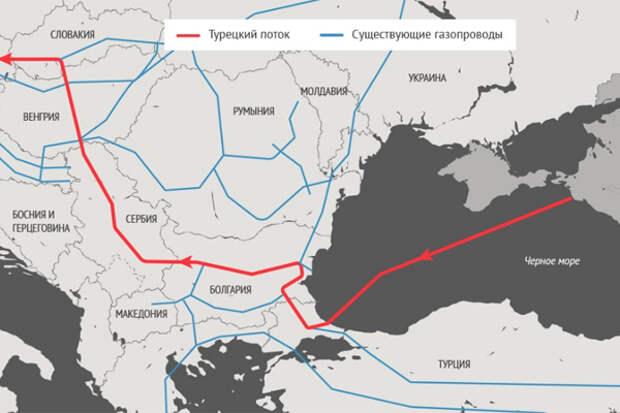 Теперь Венгрия будет получать российский газ не через Украину