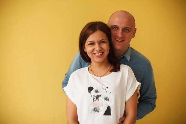 Екатерина с мужем