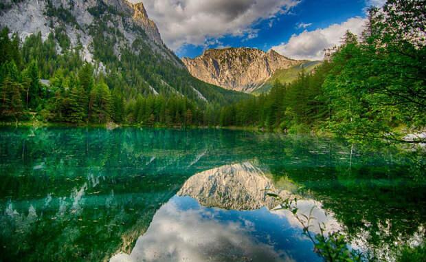 Грюнер-Зе: озеро с двойным дном