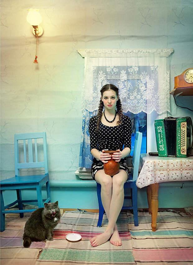 Фотопроект о красоте славянского фольклора