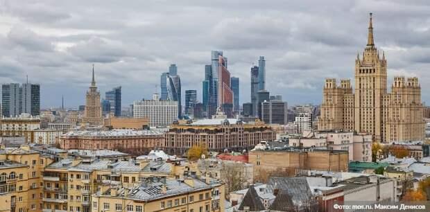 Собянин выступил в МГД с ежегодным отчетом. Фото: М. Денисов mos.ru