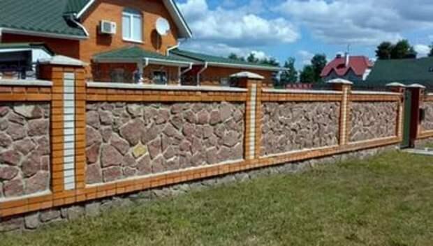 Как сделать забор из камня. Создаем красоту вокруг