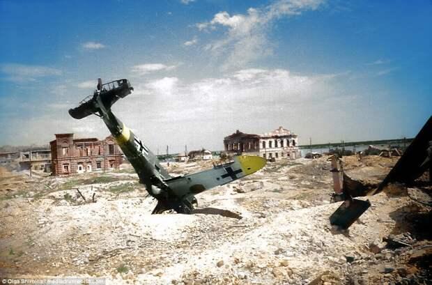 Ожившие лица войны: фотографии битвы за Сталинград в цвете