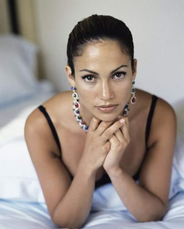 Дженнифер Лопес в фотосессии 1998 года для журнала Vanity Fair (10 фото)