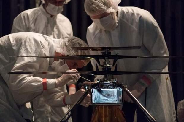 В NASA рассказали, когда взлетит первый марсианский вертолет