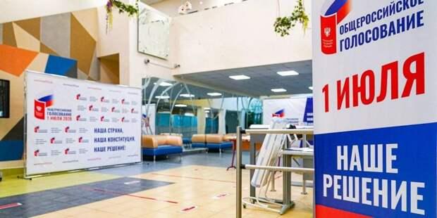 Костырко: Информация о базе данных голосования по Конституции - фейк Фото: mos.ru