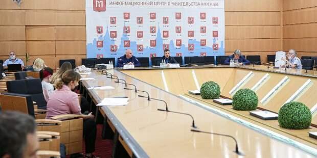 Состоялась пресс-конференция, посвященная деятельности московских пожарных и спасателей