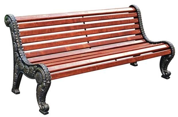 аллюминиевая скамейка