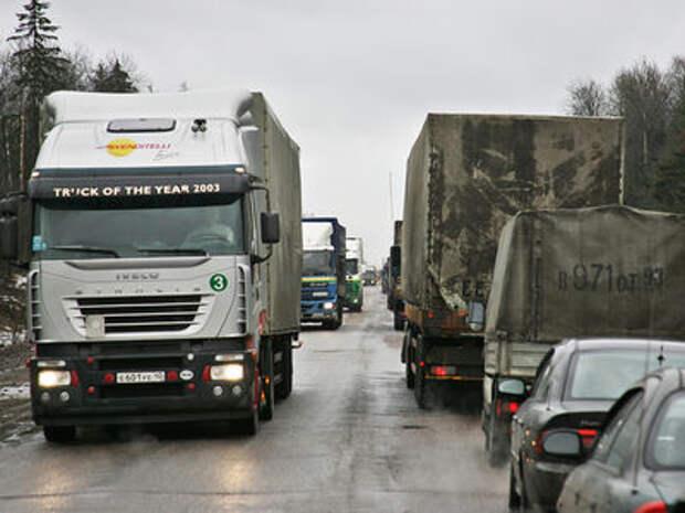 Для водителей грузовиков и автобусов ужесточат ответственность за нарушение режима