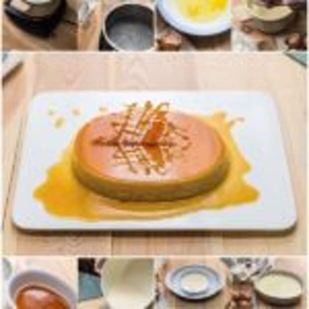 Карамельный десерт.