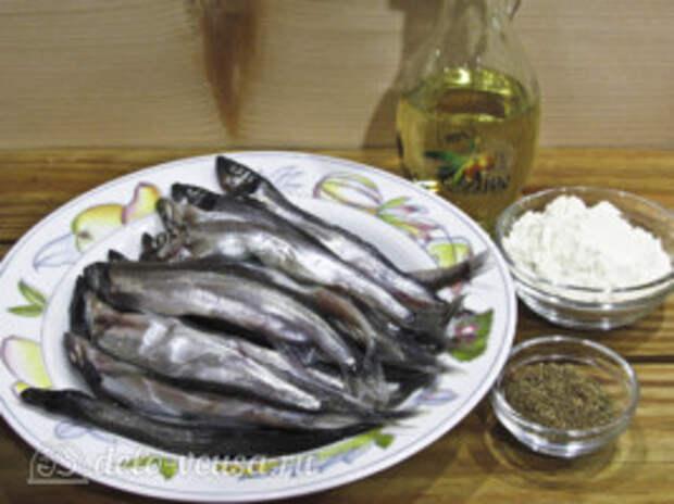 Мойва в духовке без масла: Ингредиенты
