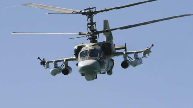 Власти Украины встревожила переброска российских ударных вертолетов Ка-52 вРостов