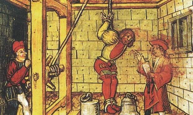 Дыба интересное, наказание, пытка