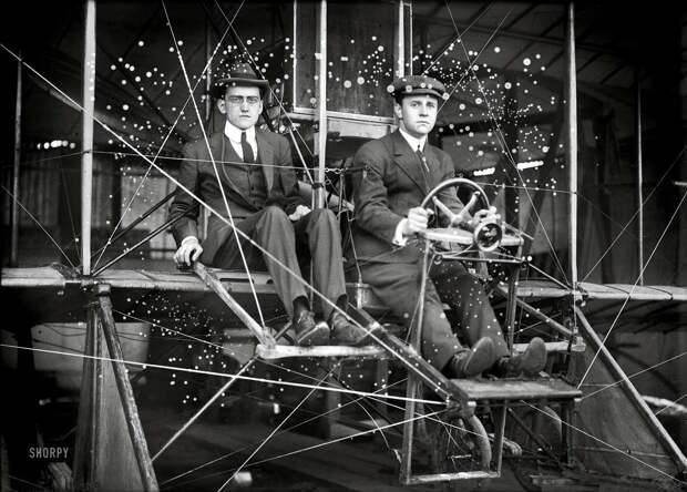 Самолеты и пилоты начала 20-го века на снимках американских фотографов (4)