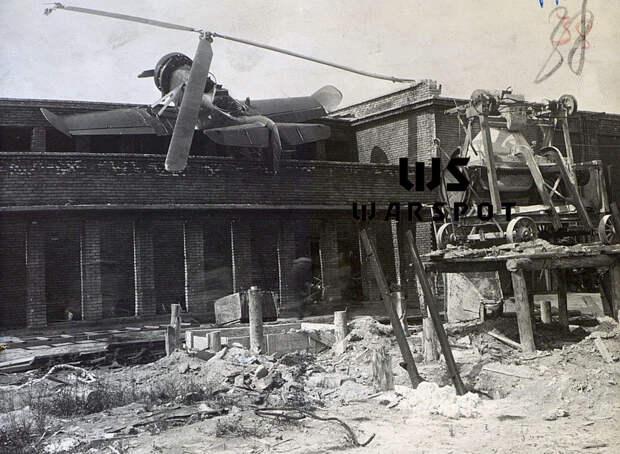 Аварийная посадка автожира №4, 26 июня 1942 года - Летающие глаза артиллерии   Warspot.ru