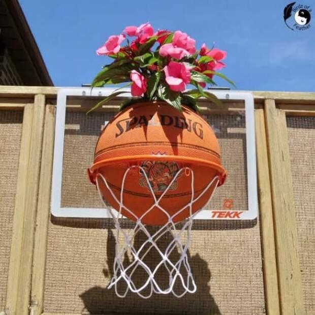Когда надоело играть в баскетбол