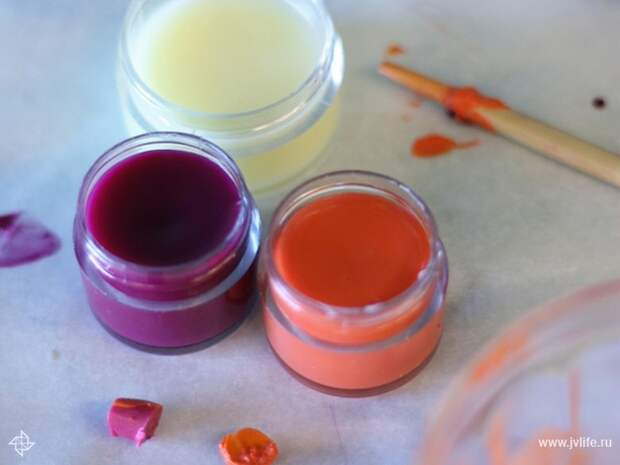 Diy lip gloss balm 4
