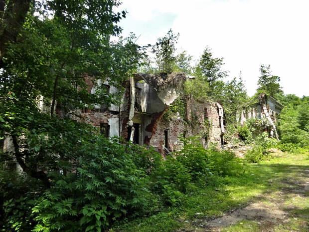 Город-призрак Акармара. Что осталось от бывшего элитного городка в Абхазии. Часть 3